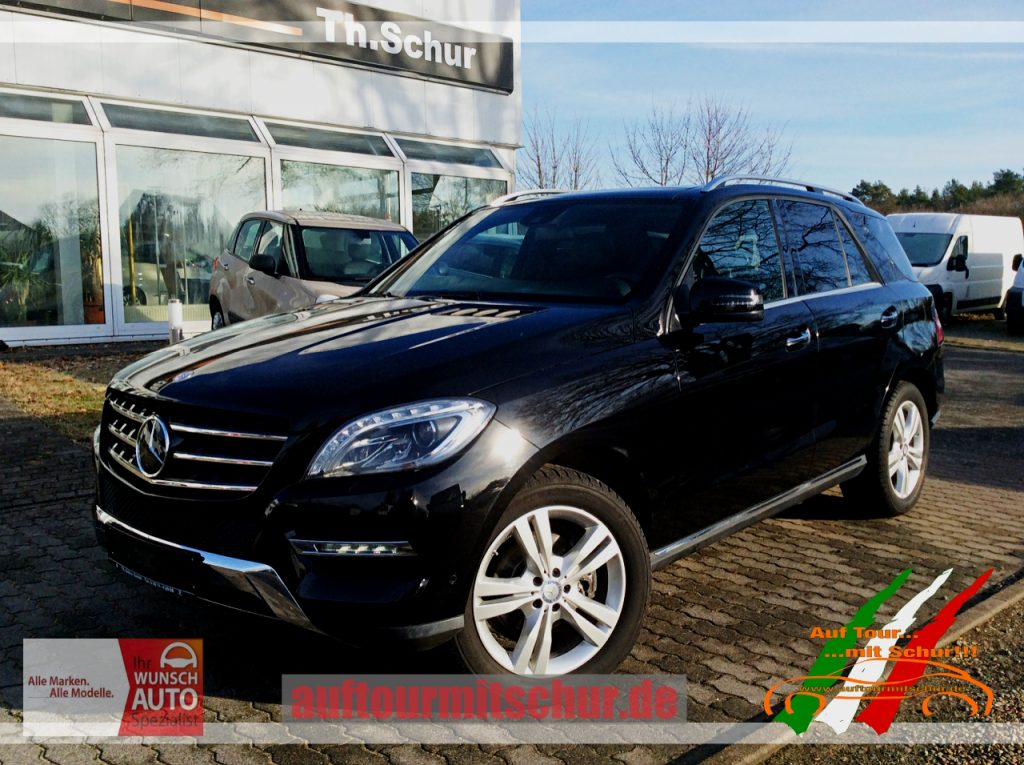 Neuzugang Mercedes Benz Ml350 Cdi Bluetec 4matic Distronicplus